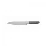 Разделочный нож серый с фиксированным лезвием LEO BergHOFF, 17 см