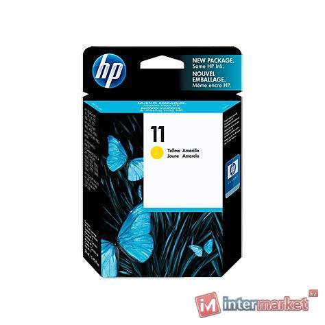 Картридж HP 11 C4838AE, Yellow