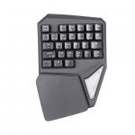 Клавиатура Delux GTK-T9Plus, Чёрный