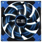 Кулер для кейса AeroCool 12см DS Blue, Чёрно-синий