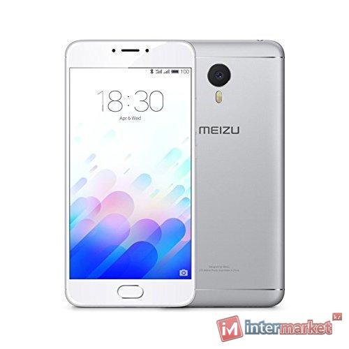 Смартфон Meizu M3 Note 16Gb, Silver