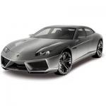 Металлическая машинка, RASTAR, 39600G, 1:43, Lamborghini Estoque, 12 см, Серая