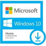 Microsoft Windows 10 Home 32-bit/64-bit All Lng Online Product Key License 1 License Downloadable ESD NR