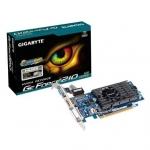Видеокарта, Gigabyte, GT210 1G 64bit (GV-N210D3-1GI) 4719331328191, sDDR3, 64B, CRT, DVI, HDMI, Fan, Цветная коробка